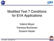 NASA Technical Reports Server NTRS 20150003024: Test 7 Conditions for EVA Applications, Off Gas Temperature Update, Extending the Life of Gas Standards, 2014 GLP Data