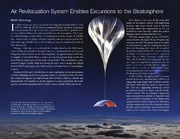 NASA Technical Reports Server NTRS 20150003550: Air Revitalization System Enables Excursions to the Stratosphere