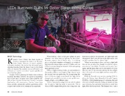 NASA Technical Reports Server NTRS 20150003555: LEDs Illuminate Bulbs for Better Sleep, Wake Cycles