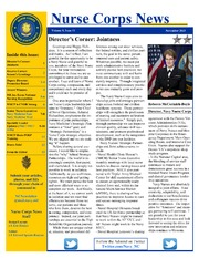 Nurse Corps News Vol 9, Issue 11 November 2015