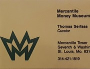 Mercantile Money Museum Business Card