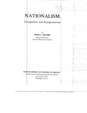 hans kohn american nationalism an interpretative essay