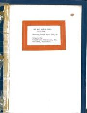 'The Navy Dental Corps' Screenplay Shooting Script