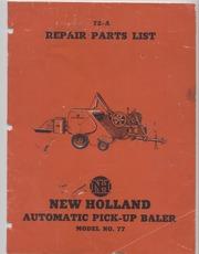 new holland 352 grinder mixer manual