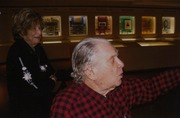 Eric and Evelyn Newman Visit the Newman Money Museum