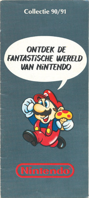 Nintendo Catalogus 1990/1991 - Nederland - raw scans : Free Download