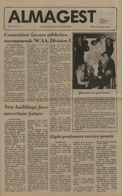 The Almagest, November 6, 1981 : LSUS Student editorial board : Free