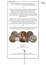 Numismagram Newsletter (#4)