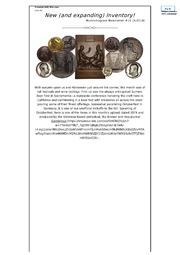 Numismagram Newsletter (#10)