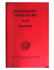 Numismatic Literature (1972-1973) (pg. 812)