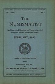 The Numismatist, February 1923