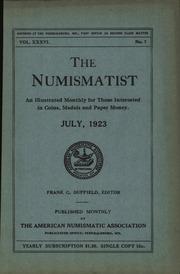 The Numismatist, July 1923
