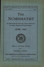 The Numismatist, June 1923