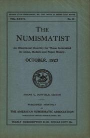 The Numismatist, October 1923