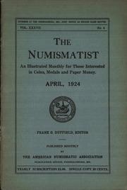 The Numismatist, April 1924