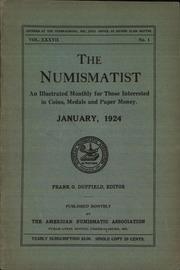 The Numismatist, January 1924