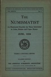 The Numismatist, June 1924
