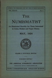 The Numismatist, May 1924