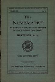 The Numismatist, November 1924
