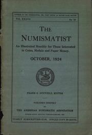 The Numismatist, October 1924
