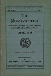 The Numismatist, April 1925
