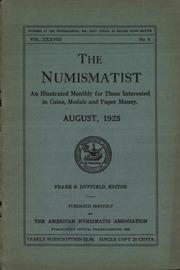 The Numismatist, August 1925