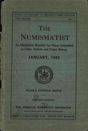 The Numismatist, January 1925