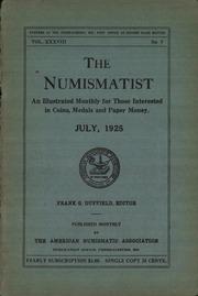 The Numismatist, July 1925