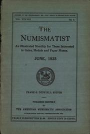 The Numismatist, June 1925