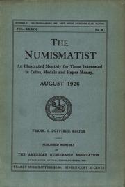 The Numismatist, August 1926