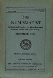 The Numismatist, December 1926