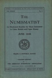 The Numismatist, June 1926