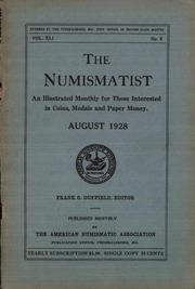 The Numismatist, August 1928
