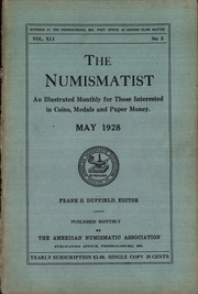 The Numismatist, May 1928