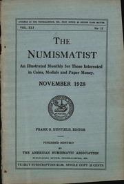 The Numismatist, November 1928