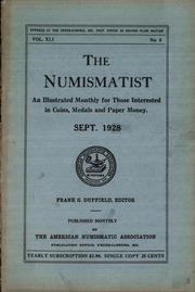 The Numismatist, September 1928