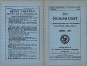 The Numismatist, April 1933