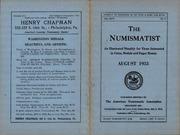 The Numismatist, August 1933