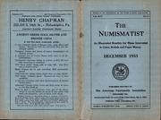 The Numismatist, December 1933