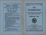 The Numismatist, February 1933