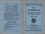 The Numismatist, July 1933
