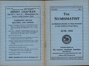 The Numismatist, June 1933