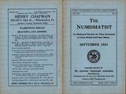 The Numismatist, September 1933