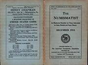 The Numismatist, December 1934