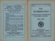The Numismatist, May 1934