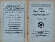 The Numismatist, August 1935