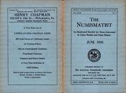 The Numismatist, June 1935