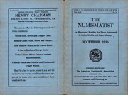 The Numismatist, December 1936