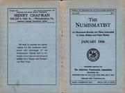 The Numismatist, January 1936