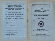 The Numismatist, May 1936